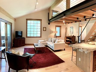 Bright, Modern Loft. 5 Miles to Ski Resort, National Park, or Downtown Jackson