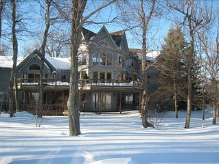 Luxurious 6 Bedroom Mountain House on Wintergreen Golf Course