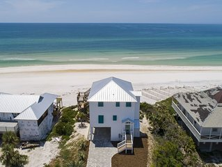 Discounted Nov Rates! Newly Renovated Gulf Front Home. Secluded Dunes!