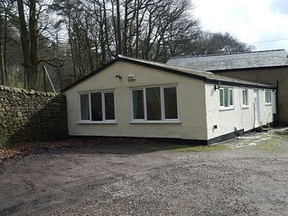 Buxton Holiday Lets Bungalow one mile from  town centre  two bedrooms, sleeps 4.