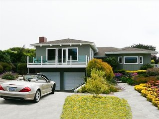 Ocean Views, Steps to Secluded Beach, Hot Tub!