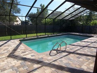 Large, High Quality, Heated Pool Home - Close to Beaches and All Amenities