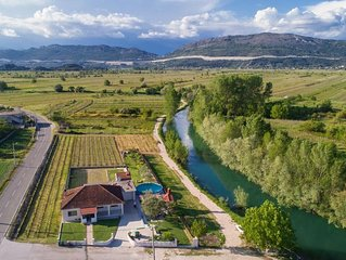 Family friendly house with a swimming pool Stasevica (Neretva Delta - Usce Neret