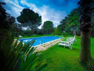 Casa Verde - Casa d'epoca in villa con piscina nel parco