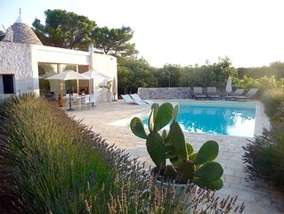 Contemporary Trullo And Pool, Puglia