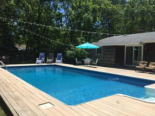 Ultimate Hamptons Getaway! Private Pool, Close to Ocean, Shopping, and Wineries!
