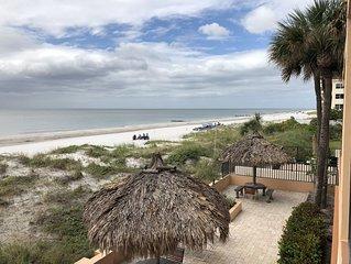 *Extra Clean* Newly Renovated Beachfront Three Bedroom Condo Madeira Beach