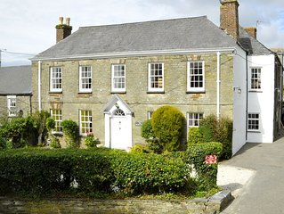Fabulous Family Friendly Manor House Just 3 Miles From Padstow with Hot Tub!