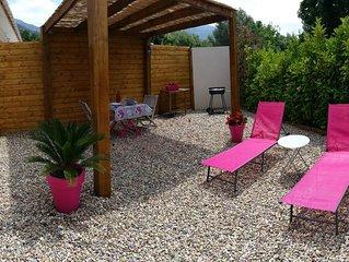 Charmante petite Maison climatisée avec espace extérieur à Patrimonio (wifi)
