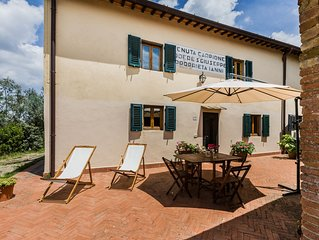 Cozy house in Chianti 5 - free parking