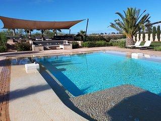 Palais Namafé à Essaouira, 8 km de la médina, 5 km de la plage et 3,5 km du Golf