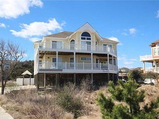 #456: OCEANSIDE Home in Corolla w/PrivatePool & HotTub