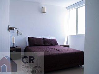 Hermoso, central y COMODO apartamento en Santa Marta.
