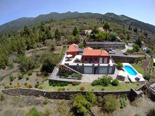 Tijarafe:Villa de vacaciones 'Atlantico' con piscina  - Isla La Palma canarias