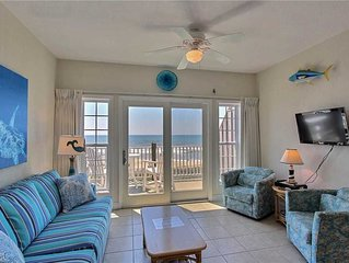 Top O Hatteras  OCEANFRONT Condo w/Elevator, Comm Pool