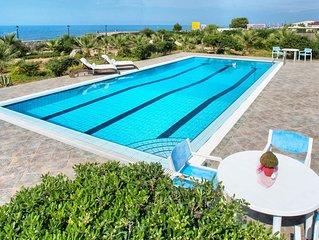 Luxury Beachfront Villa with 95 sq.m Private Swimming Pool