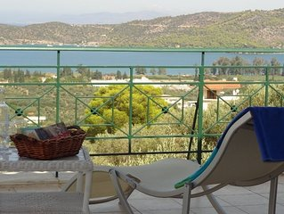 Detached Villa With Panoramic Views. 2 Mins Crossing To Poros Island