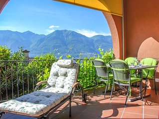 Nice apartment for 5 guests with WIFI, TV, balcony, pets allowed and parking