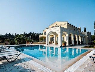 Luxury Villa Ellania in uphill with seaview