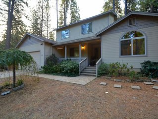 Luxury Home in Blue Lake Springs, Close to Bear Valley and Giant Sequoia Trees