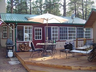 Pine Cone Ranch Cabin in the Tall Pines