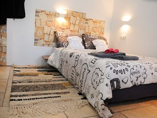 Studio in Hadera - For thous who wants to feel real ISRAEL