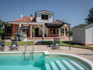 Villa Sequoia con piscina e spa privata