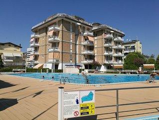 Jesolo Piazza Milano, ideale per famiglie, servizi spiaggia inclusi