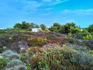 Torre Borraco, immersa nel verde a 100 m dalla spiaggia