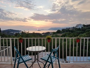Lovely sea view apartment, Dalmatian Coast, Cavtat, large terrace and pool
