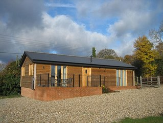 Beautifull log cabin set on a working farm in the heart of the Kent Countryside