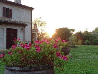 Villa con Giardino a 5km dal mare!