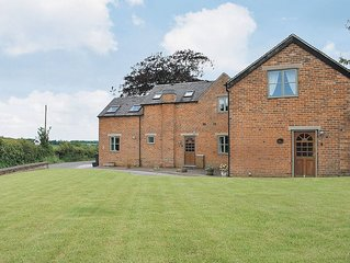 Beautiful barn conversion in Dove Mount Farm
