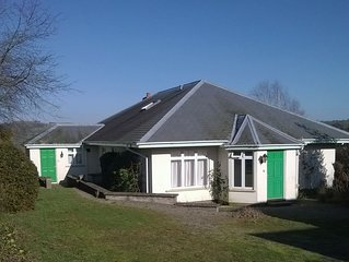 Detached rural bungalow, with sunroom, parking and enclosed garden