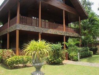 3 Bedroom Charming Luxury Villa Located On Bang Por Beach