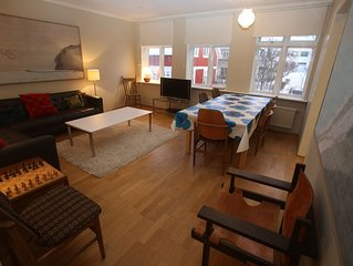 Reykjavik Apartment - Fantastic Location in Heart of Downtown