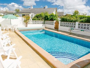 Detached Bungalow With Outdoor Heated Swimming Pool, St Merryn, Nr Padstow