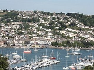 NAVY BLUE - character cottage with stunning views over Dartmouth & Naval College