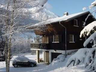 Chalet with large garden ideal for families