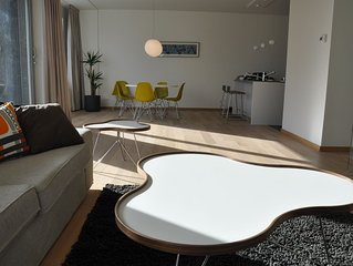 Modern nieuwbouwappartement in trendy wijk het Eilandje in Antwerpen