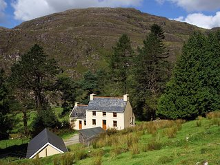 This is a true 'get away from it all' cottage, a traditional stone farmhouse sit