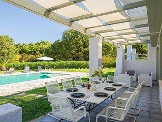 Single Storey Villa, Private Pool, A/C, Sea Views, Countryside Setting a few min