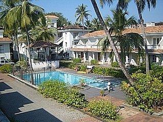 Villa 6,  Zen Gardens Benaulim Goa - Gated Complex, swimming pool, fully kitted