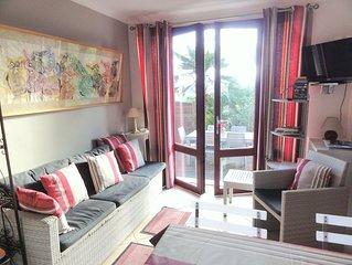 St Jean de Luz Ciboure appartement de charme entre mer, ville, jardins, montagne