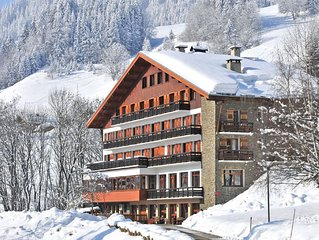 Rustic apartment in the authentic mountain village of Megeve