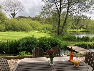 The Fishing Lodge - exclusive lakeside property with private fishing available.