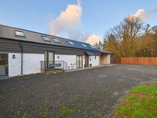 Spacious and scenic – this semi-detached converted barn offers a great base to d