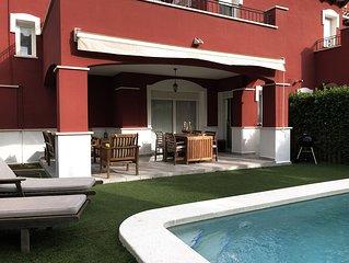 Fabulosa Villa con piscina privada y zonas exteriores