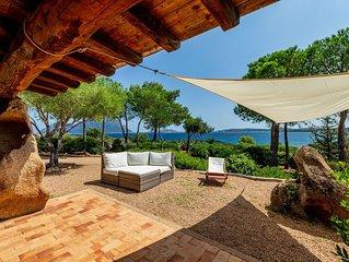 Villa Gaviel,  villa con discesa a mare