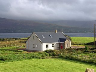 Detached cottage, in quiet location, facing south, and enjoying fine southerly o